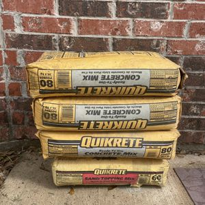 FREE - 3 Bags Of Concrete + 1 Bag Of Sand Mix for Sale in Alvin, TX