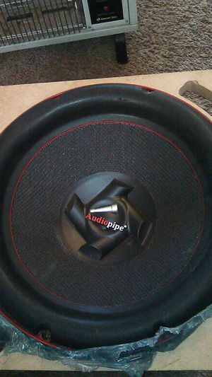 2 Audio pipe competition speakers for Sale in Whitehall, OH
