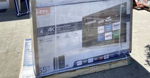 "55"" TCL smart roku tv 4K for Sale in Jurupa Valley, CA"