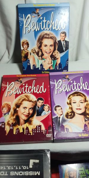 Bewitched in color season 1 2 & 3 all complete for Sale in Riverside, CA