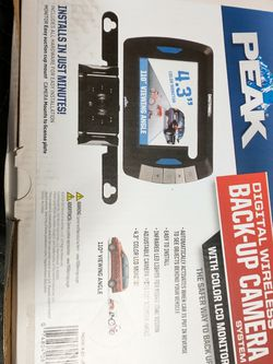 Pete Digital Wireless Backup Camera System With Color LCD Monitor Brand New for Sale in Fresno,  CA