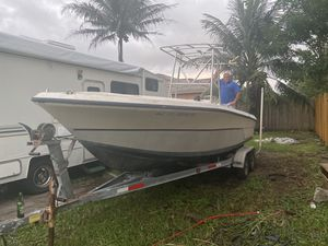 Fishing boat 22 ft for Sale in Homestead, FL