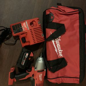 Milwaukee M18 FUEL ONE-KEY 18-Volt Lithium-Ion Brushless Cordless 1/2 in. Impact for Sale in Aurora, IL