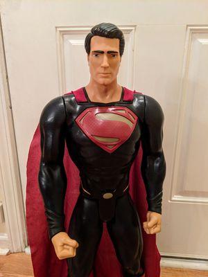 "31"" Superman Man of Steel Action Figure for Sale in Matthews, NC"