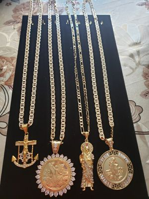 GOLD PLATED 14K CHAINS for Sale in Fresno, CA