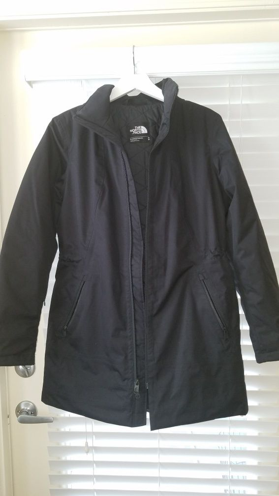 North Face Womens Zip Jacket w/Detachable Hoodie