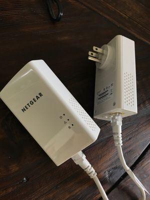 NETGEAR powerline 1200 internet extender 1000MB for Sale in Bainbridge Island, WA