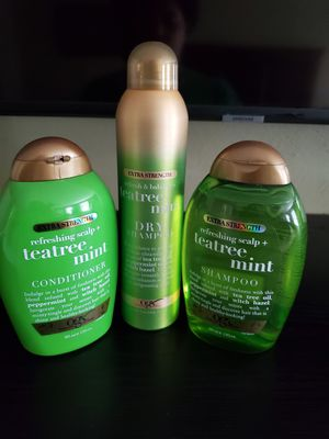 OGX tea tree & mint (ALL NEW) for Sale in Chesapeake, VA