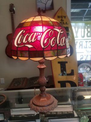 Vintage Coca-cola lamp #2 for Sale in Cockeysville, MD