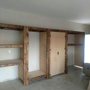 Custom built storage shelves for Sale in Temecula, CA