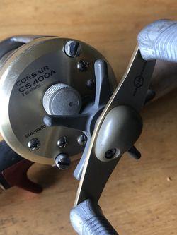 """Shimano Corsair CS400A w/ 7"""" feet Abu Garcia rod for Sale in Hollywood,  FL"""