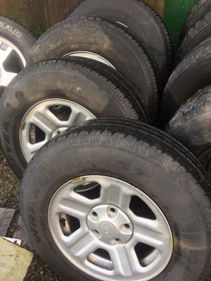 Jeep wheels for Sale in Snohomish, WA