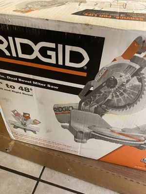 "Ridgid Dual Bevel Miter Saw 10"" for Sale in Austin, TX"