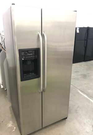 Stainless side by side refrigerator for Sale in Denver, CO