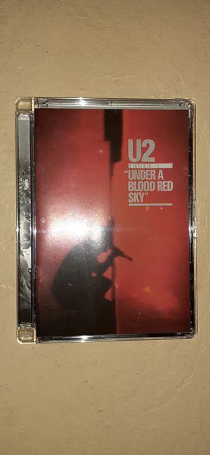 DVD U2 Under Blood Sky Live for Sale in Buckeye, AZ