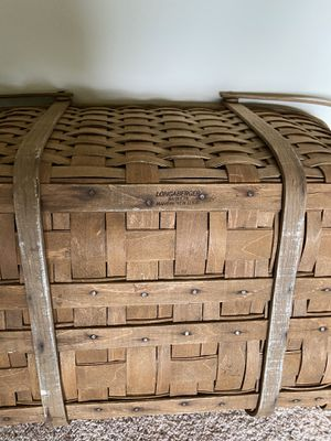 Longaberger picnic basket. for Sale in OH, US