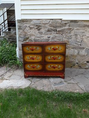 Dresser has a small spot on top bat is good overall for Sale in Trumbull, CT
