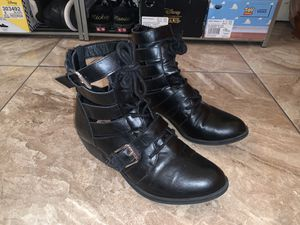 Size 8 Black Ankle Boots for Sale in Huntington Park, CA