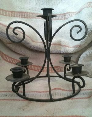 CAST IRON & METAL VASE & CANDLE HOLDERS for Sale in Los Angeles, CA