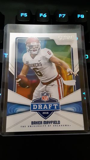 Baker mayfield's draft rookie card for Sale in Young, AZ