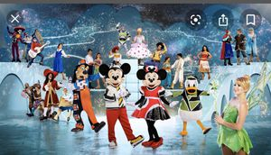 2 Disney on ice tickets for Sale in Los Angeles, CA