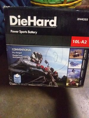 Die hard Power sport battery brand new 10L-A2 for atv dirt bike snowmobile lawn mower for Sale in Riverside, CA