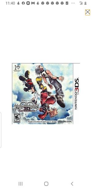 Kingdom hearts 3ds for Sale in Hammond, IN