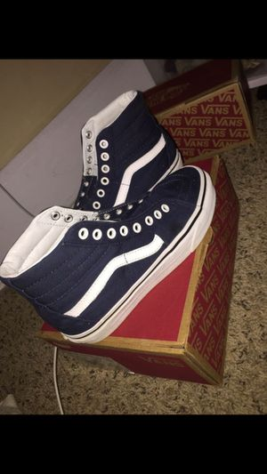 navy blue high top vans for Sale in Indianapolis, IN