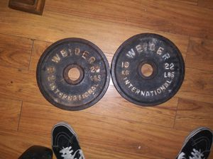 2 Olympic Weight Plates for Sale in Los Angeles, CA