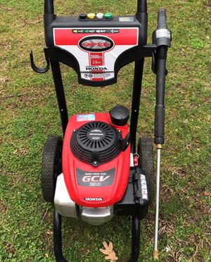 Simpson Honda 3000 psi pressure washer power for Sale in Plumsted Township, NJ