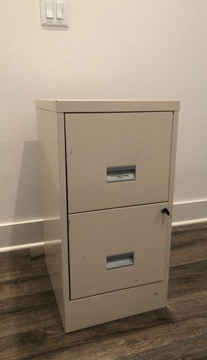 2 Drawer Filing Cabinet for Sale in San Diego, CA
