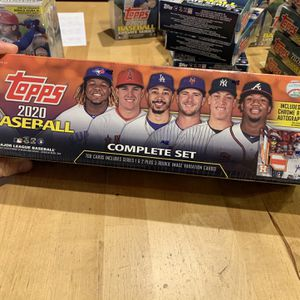 2020 Topps Baseball Complete Card Set ORANGE 1 Auto or Relic 🔥🔥 for Sale in San Diego, CA
