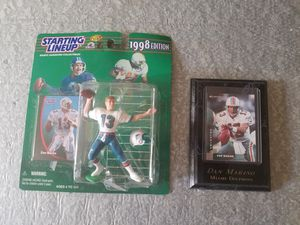 Dan Marino collector figure and sports card - Both new and in 100% mint condition for Sale in Sarver, PA