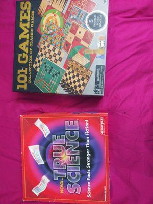 TRUE SCIENCE BOARD GAME & 10 CLASSIC BOARD GAMES IN ONE for Sale in Dallas, TX