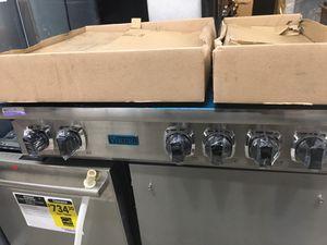 """Viking stainless steel 36"""" gas range top cooktop 6 burner for Sale in Los Angeles, CA"""