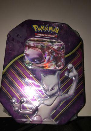 Pokemon Mewtwo tin for Sale in Houston, TX