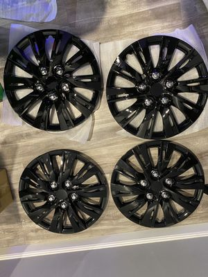 """15"""" Rim covers Glass Black for Sale in Brooklyn, NY"""