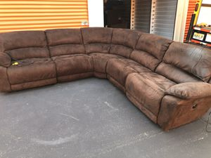 Sectional Couch Electric Recliner Sofa *FREE DELIVERY* for Sale in Berkeley Township, NJ