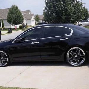 Honda Accord 2008 By Fore Sale (black) for Sale in Cadillac, MI