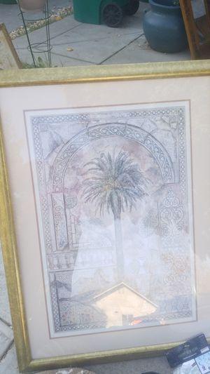 bonito cuadro de palmas for Sale in Stockton, CA