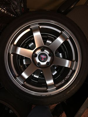 """Avid.1 AV06 18"""" Wheels and tires ONLY 3! for Sale in Somerset, MA"""