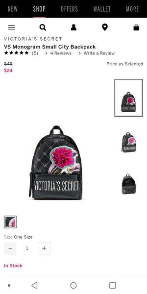 Back pack victoria secret new for Sale in Alexandria, VA