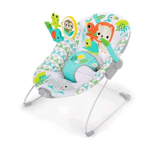 Bright Stars Spinning Safari Vibrating Bouncer for Sale in Wadena, MN