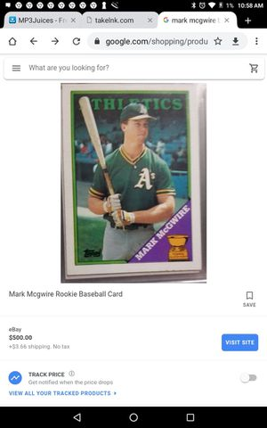 Original collection baseball cards for Sale in Fresno, CA