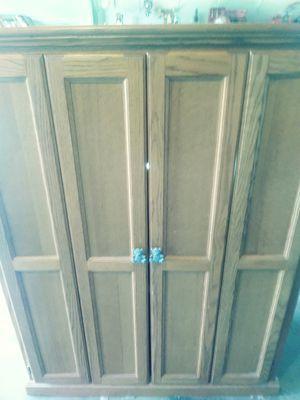 Oak cabinet for Sale in Modesto, CA
