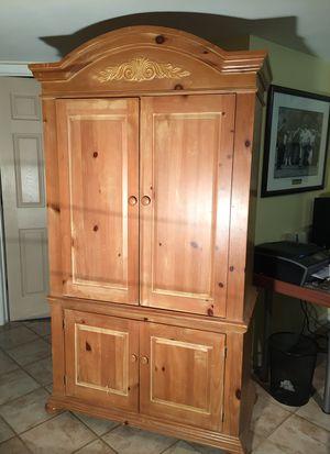 Broyhill Fontana Pine Armoire for Sale in La Grange Park, IL