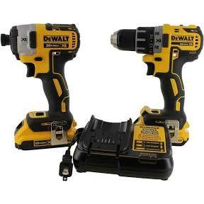 Dewalt brushless compact drill/driver/3-speed impact driver combo kit for Sale in Salt Lake City, UT