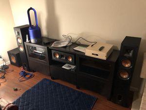 Klipsch Home Theatre 5.1 Surround Sound Speaker System [5-year wrnty] for Sale in Belmont, CA