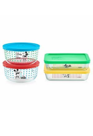 SPECIAL EDITION Mickey 8pc Pyrex Set for Sale in New Bedford, MA