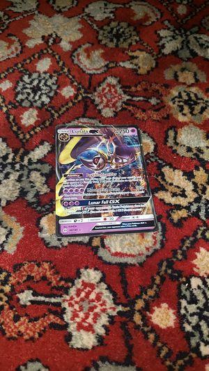 Pokemon card: lunala GX for Sale in Adkins, TX